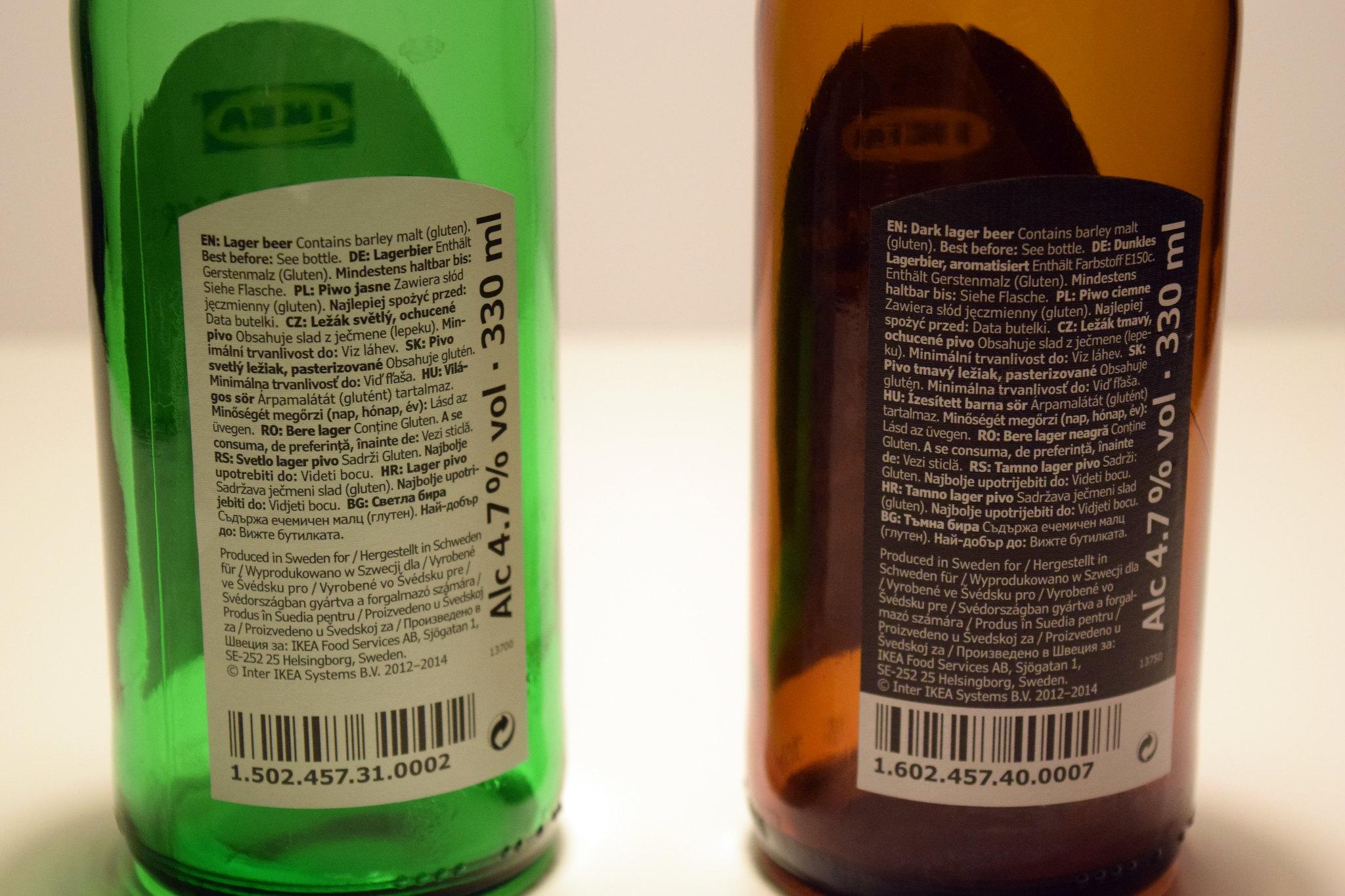 ikea piwa etykiety