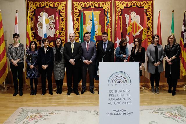 Reunión de la Coprepa en Valencia (13/01/2017)