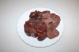 01 - Zutat Rinder- &  Schweinefleisch