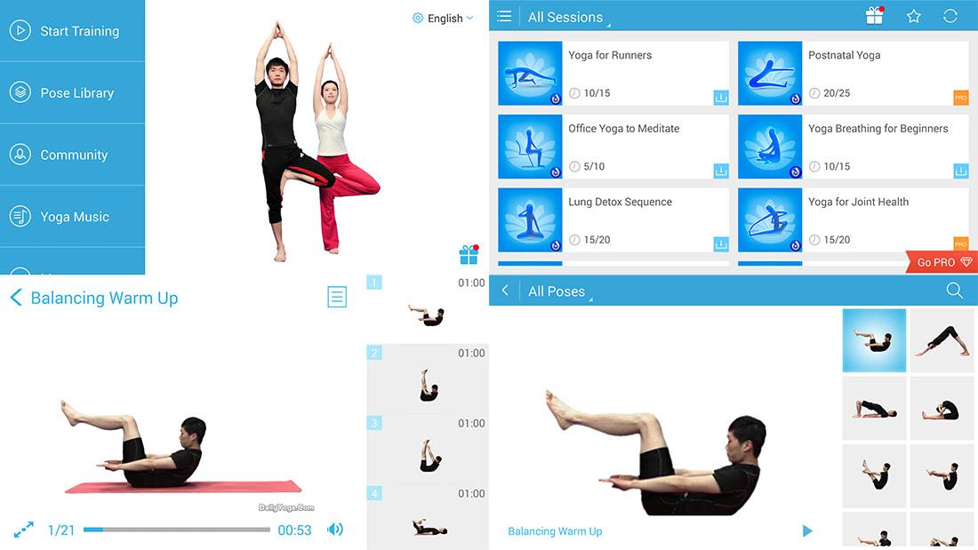 Daily Yoga app