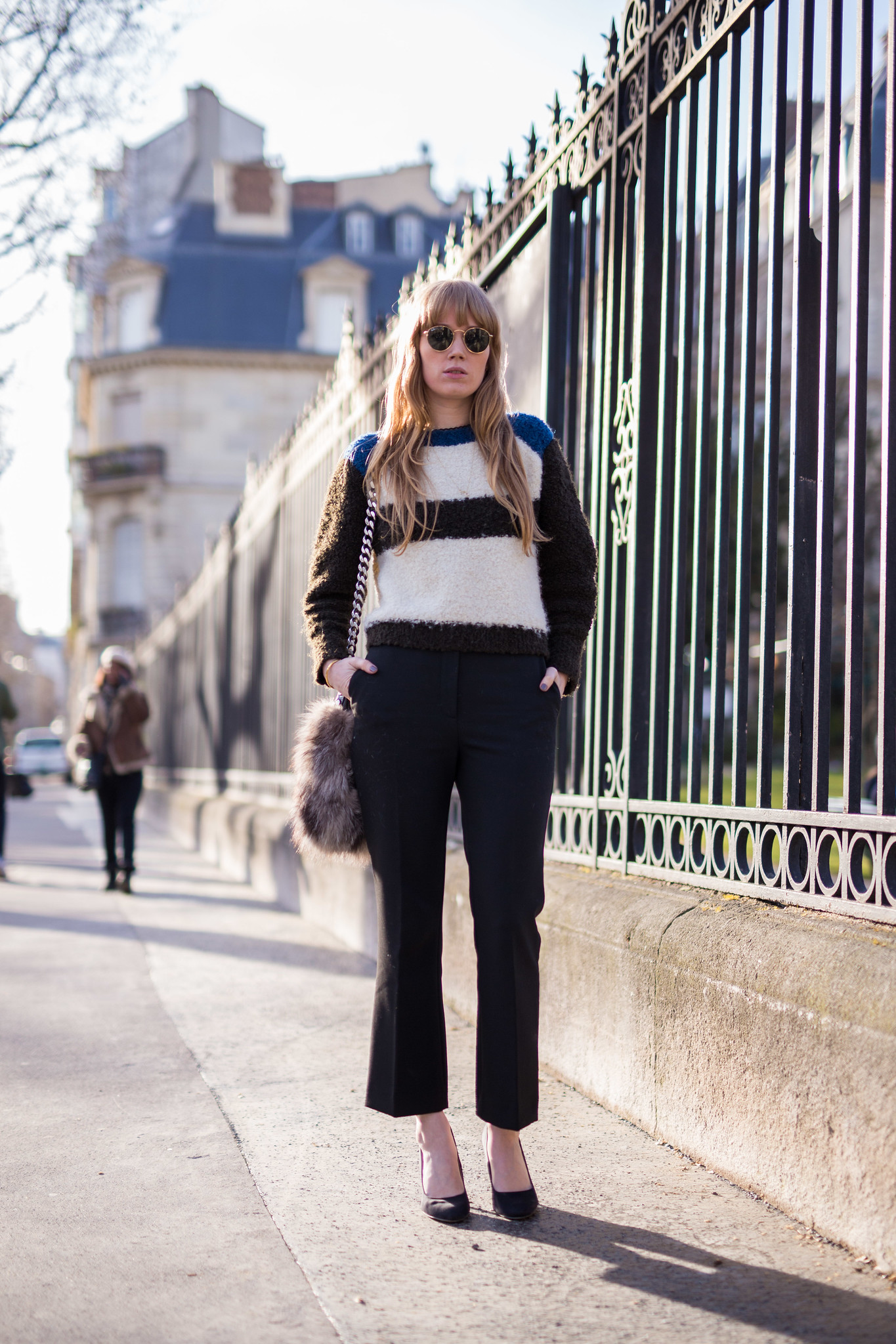 Street Style - Fiona Jane, Paris Fashion Week