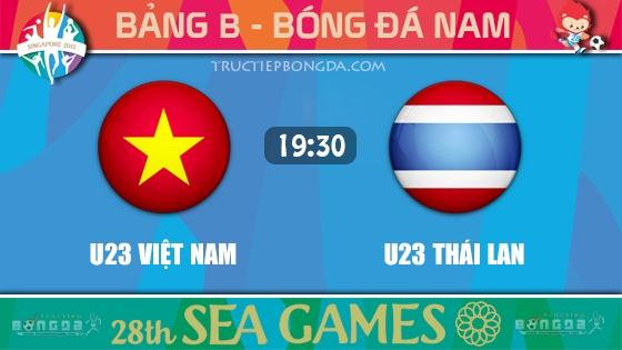 U23 Việt Nam vs U23 Thái Lan