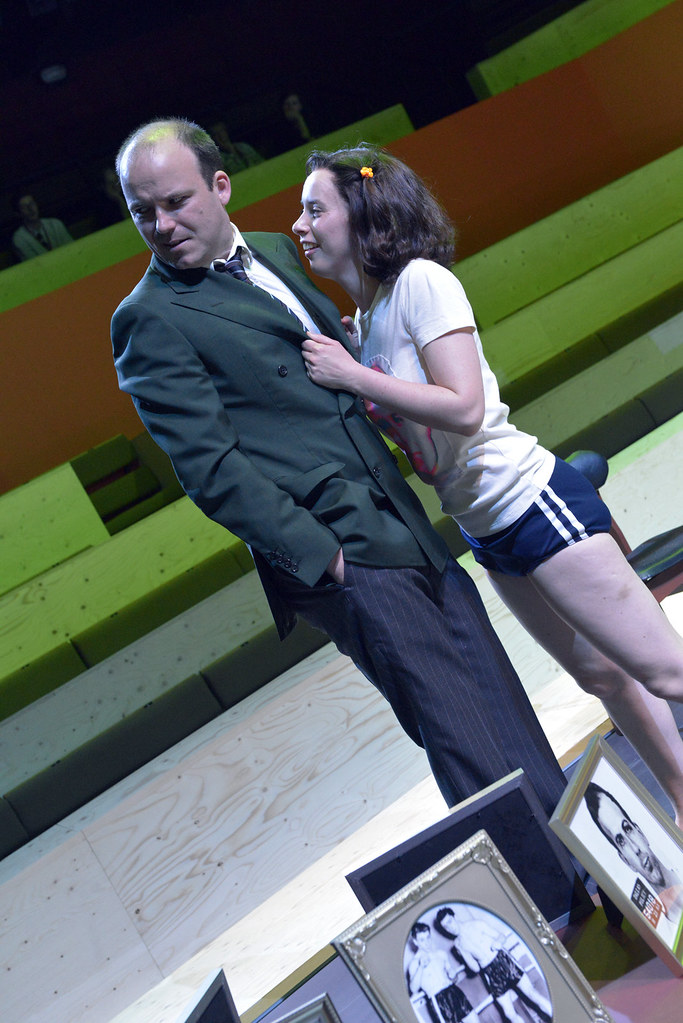Rory Kinnear Josef K And Kate O Flynn Cherry In The Tr