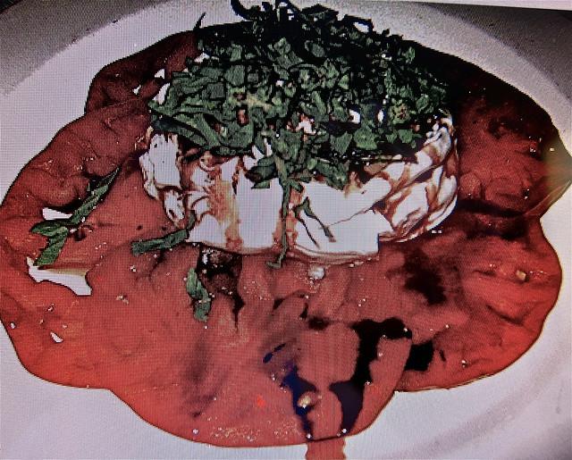 burrata cheese withheirloom tomatoes