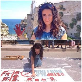 Rutigliano-La candidata governatrice della Puglia e ora consigliere dice No alle trivellazioni a Polignano
