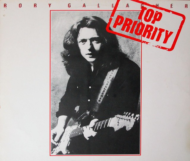 Rory Gallagher Top Priority 12 VINYL ALBUM