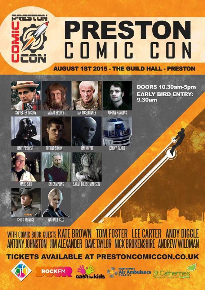 Preston Comic-Con 2015