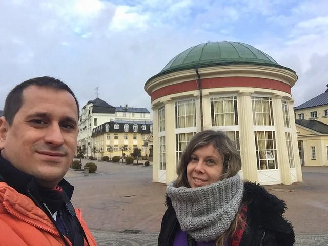 Sele y Rebeca en Františkovy Lázně (República Checa)