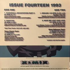 V.A.:X-MIX ISSUE FOURTEEN 1993(JACKET B)