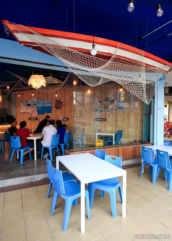 Blue Inn Seafood Restaurant Kepong Taman Usahawan