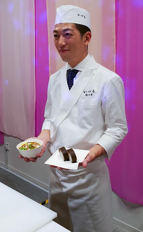 Flavour of Hanami - Chef Sasaki - IZUU Japanese Restaurant