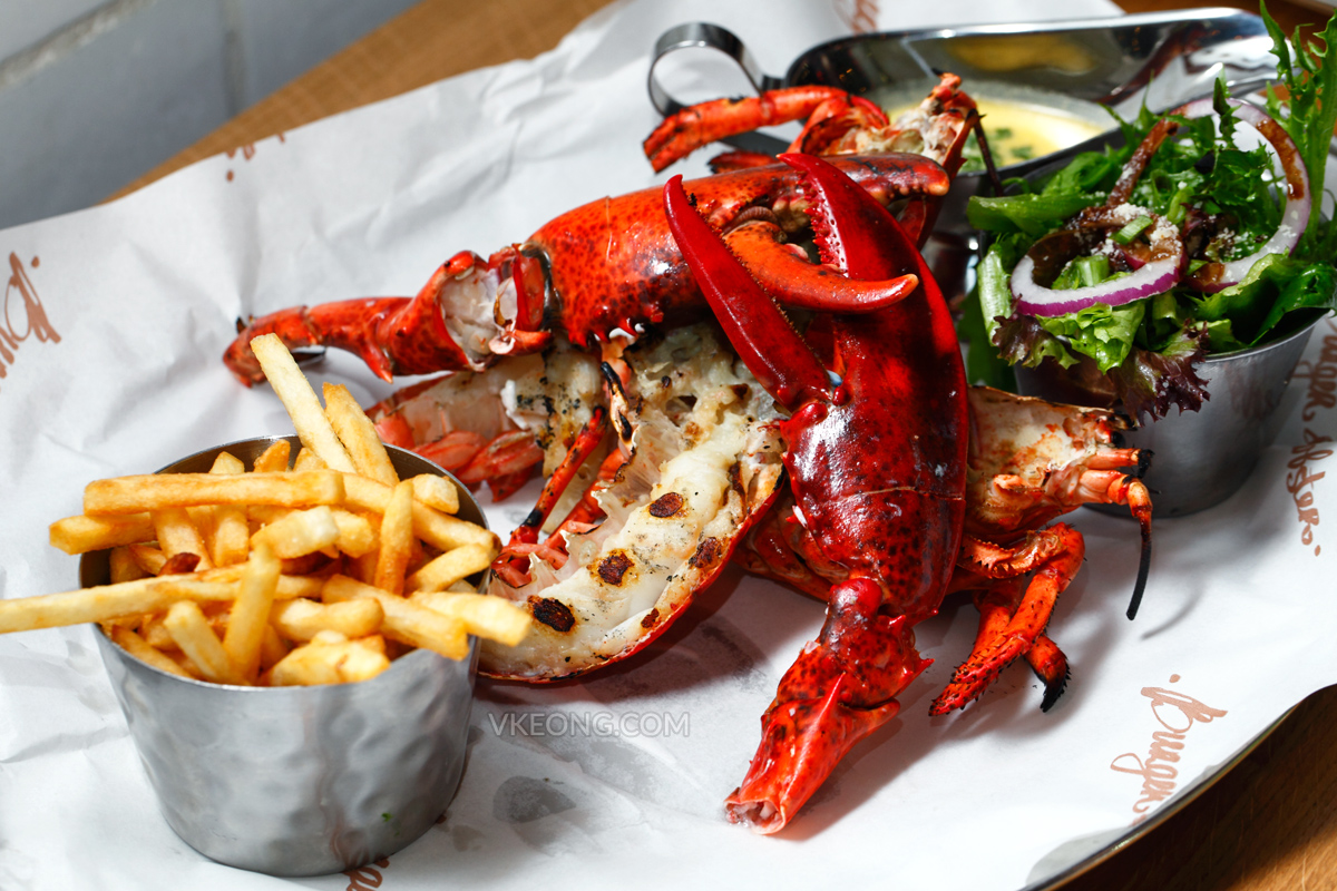 Burger & Lobster Grilled Lobster