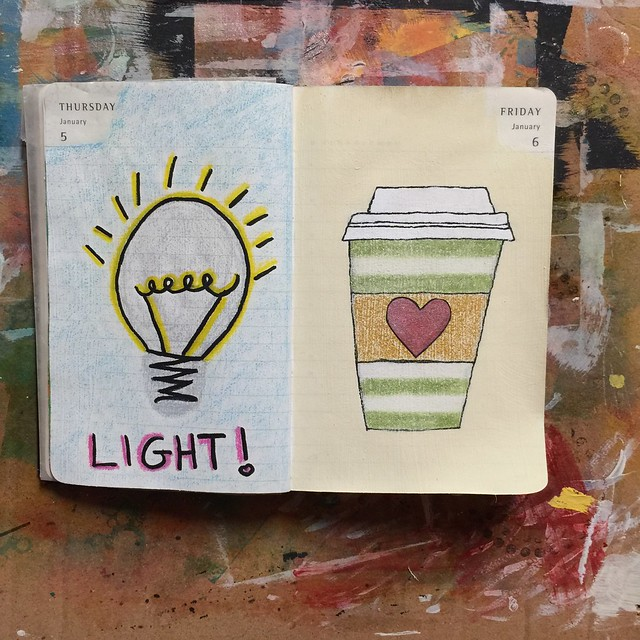 Day 5 & 6 together 💡☕️