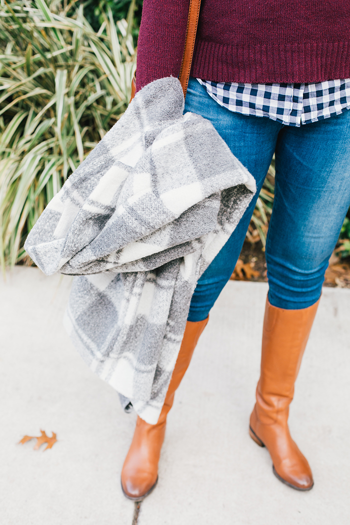 austin style blogger gingham winter outfit20