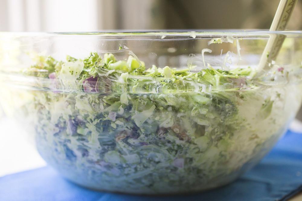 Vegan Broccoli Slaw