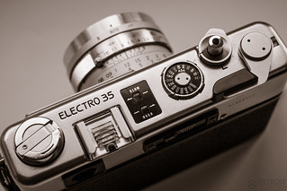 Yashica Electro 35 GSN 35mm rangefinder camera | by Detroit Imagery