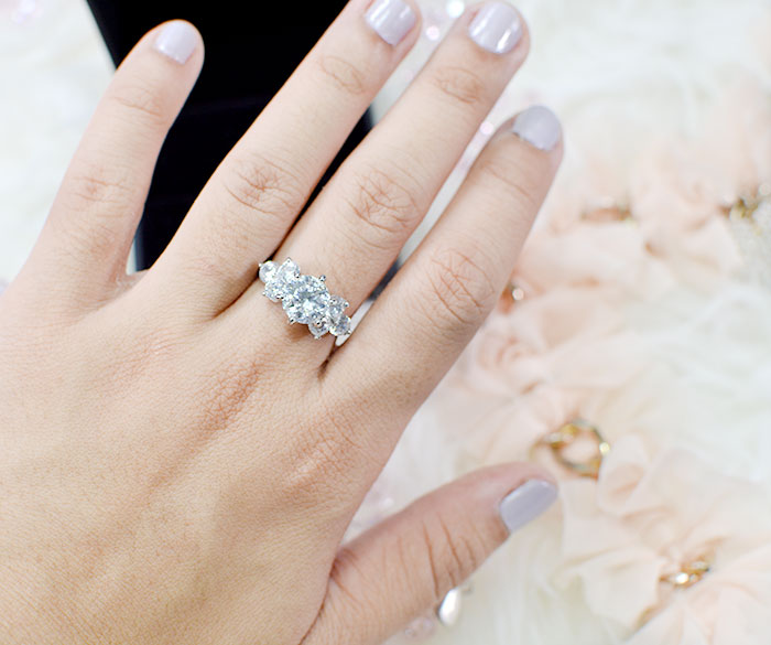 Wearing Engagement Ring Middle Finger