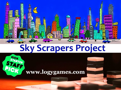 007 - Sky Scrapers Kickstarter