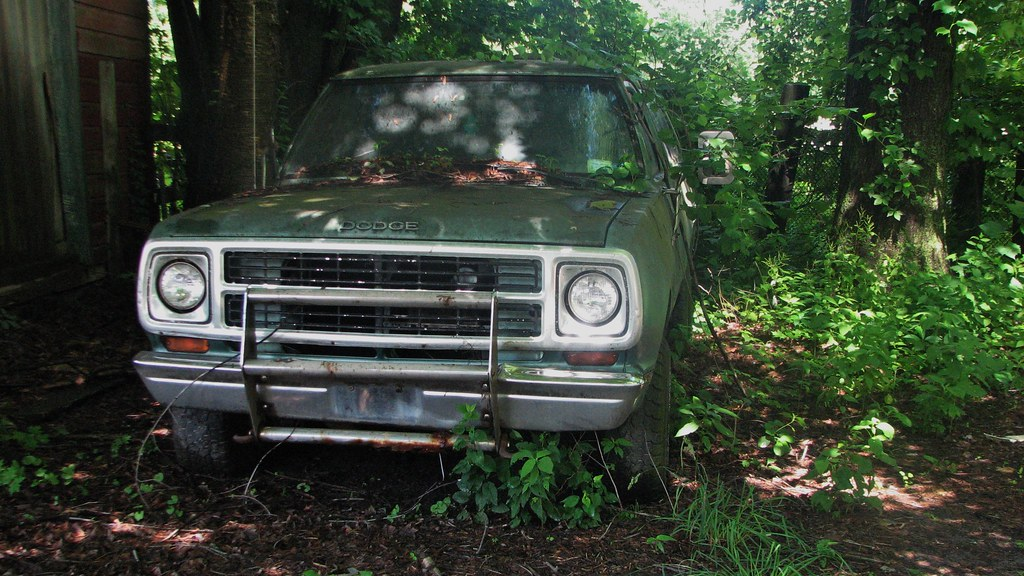 A Faded Rusty 1980 Dodge Ramcharger In June 2015 In The To Flickr