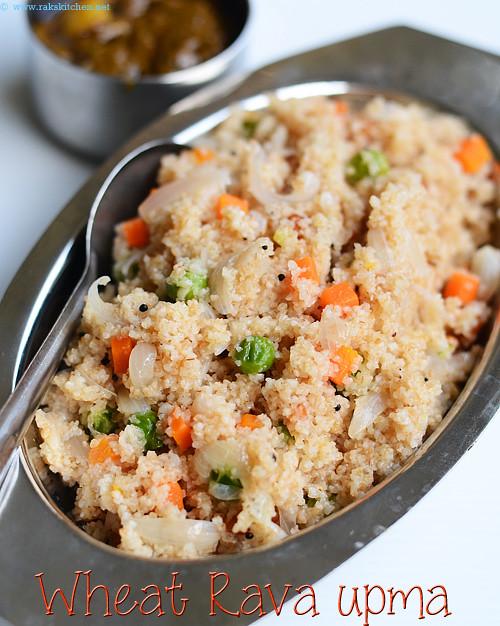 Godhumai rava upma recipe wheat rava upma raks kitchen godhuma rava upma forumfinder Gallery