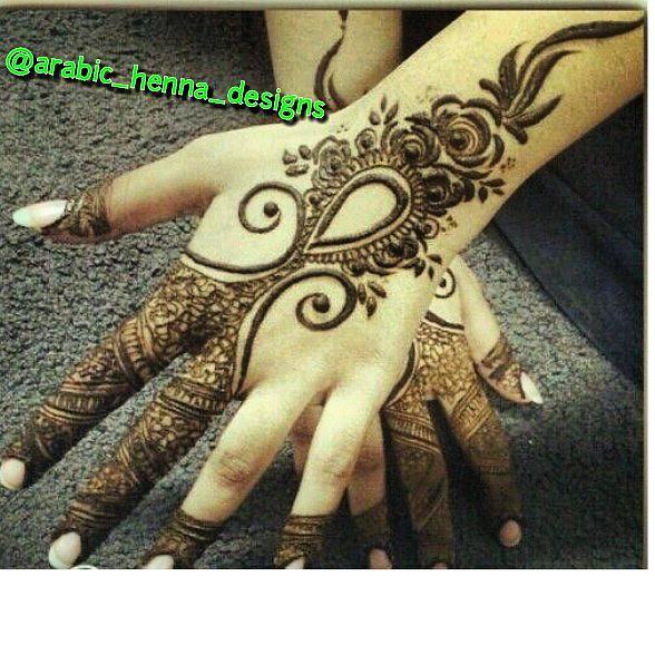 Simple New Designs Follow Like Henna_inspiration Ar