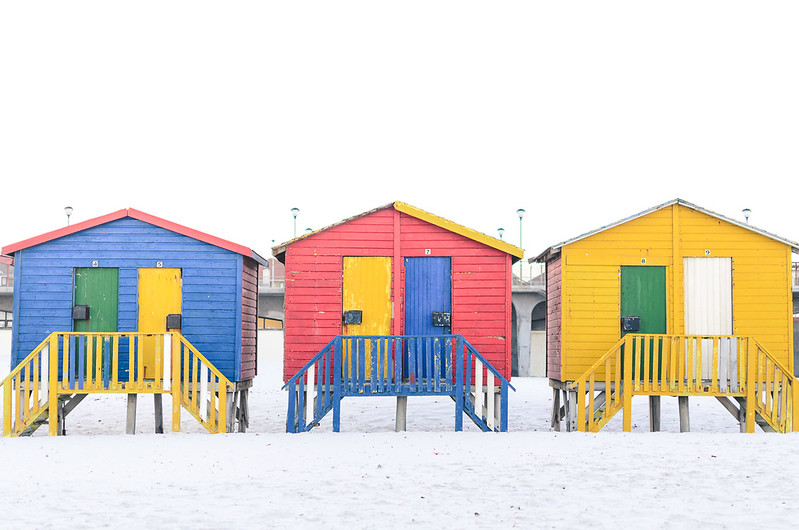 Muizenberg_colored cottages