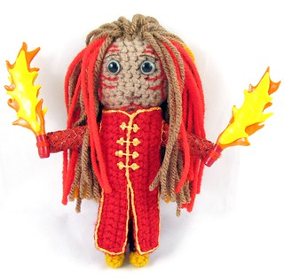 Firedrake Doll (fire dancer)