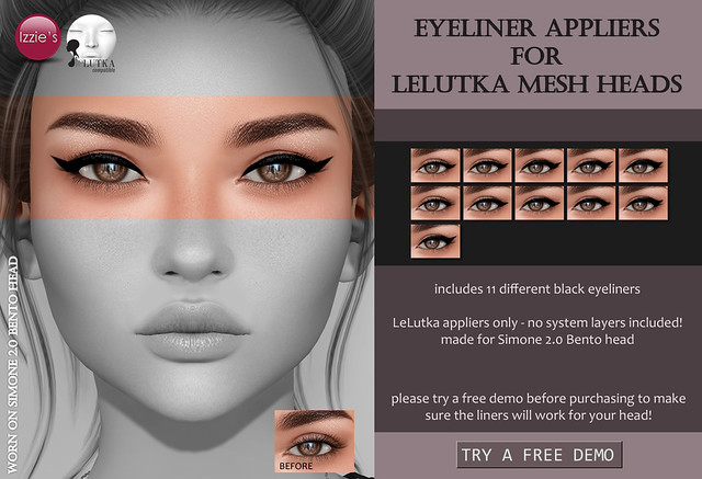 Eyeliner Appliers (LeLutka Bento) for FLF