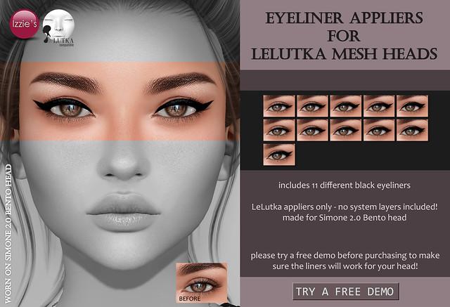 Eyeliner Appliers (LeLutka Bento) for FLF