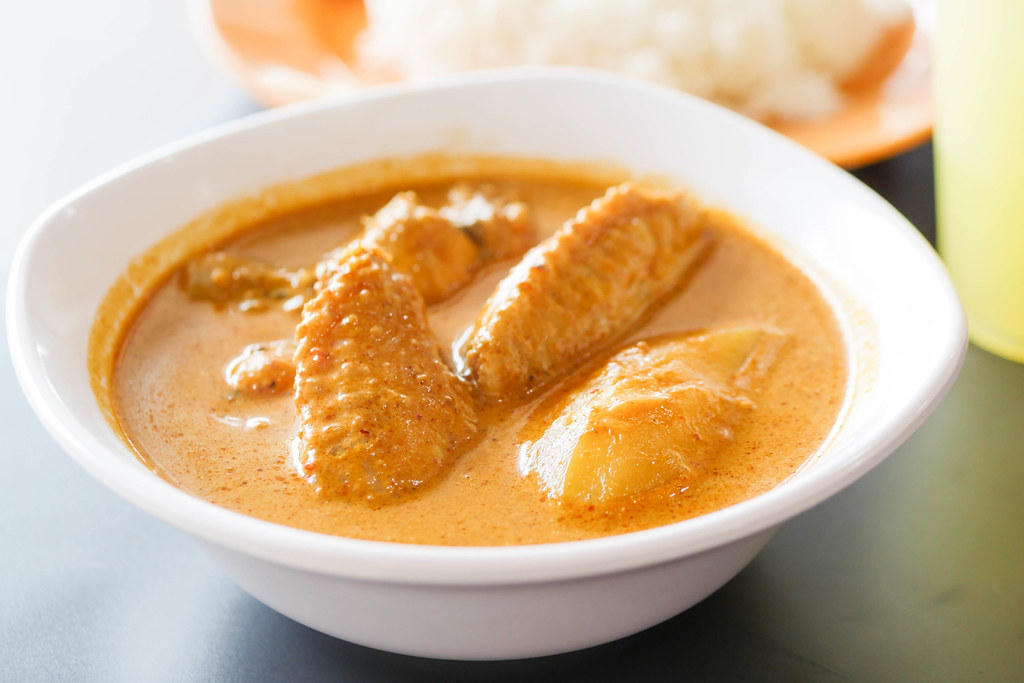 The Original Katong Laksa's curry chicken