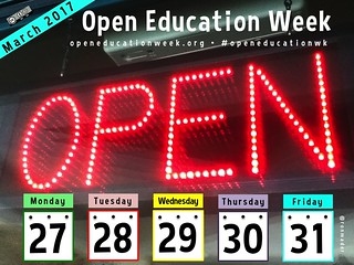 March 27-31 Open Education Week 2017