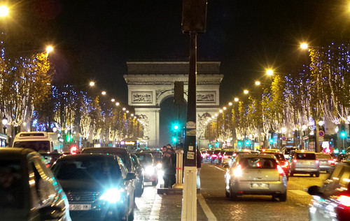Arc de Triomphe Lights