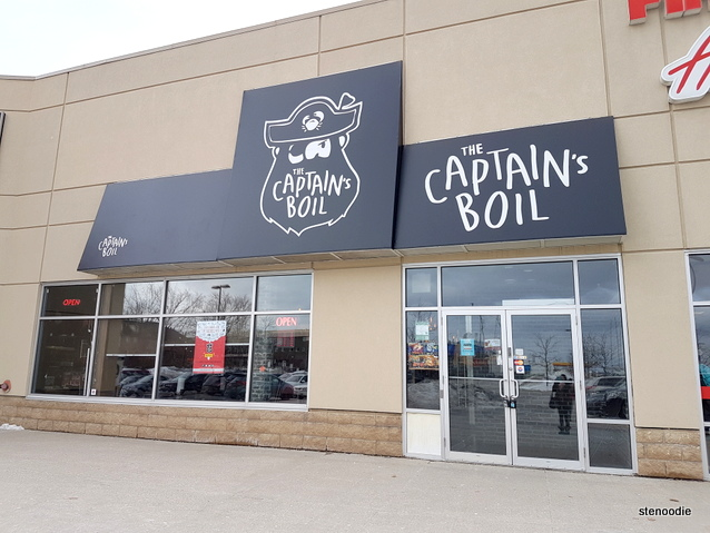 The Captain's Boil Newmarket storefront
