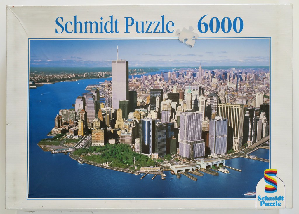 ... New York - 6,000 pieces - Schmidt 03998 and 57155 | by thebiglist