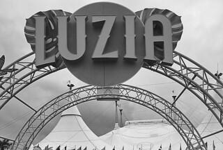 Cirque du Soleil - Luzia sign