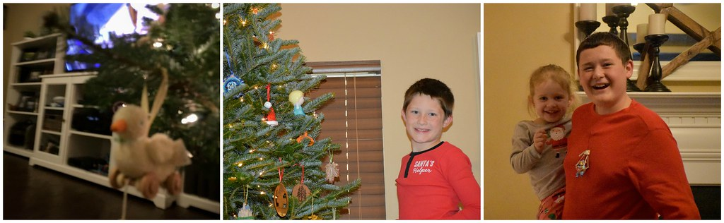 decorating the tree two