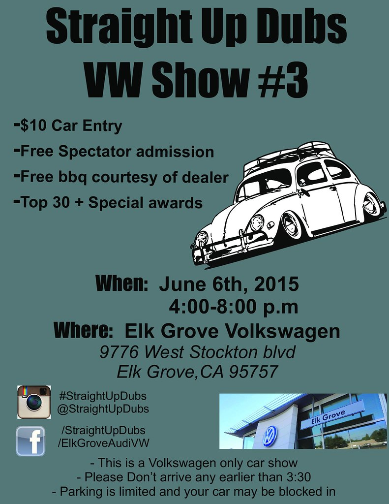Straight Up Dubs VW Show #3