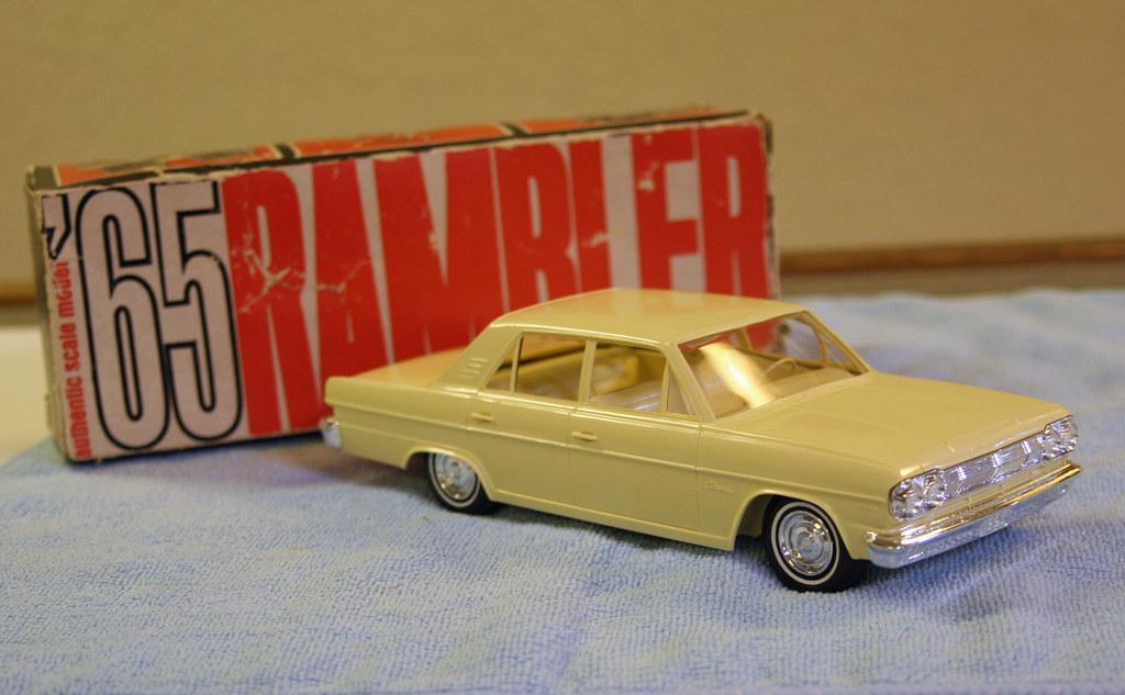 1965 American Motors Rambler Classic 4 Door Sedan Promo Mo