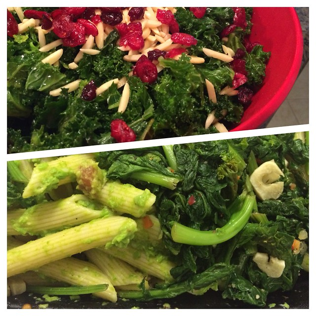 Kale salad and pea pesto #webeatfat #weightloss #mealprep #fitfluential