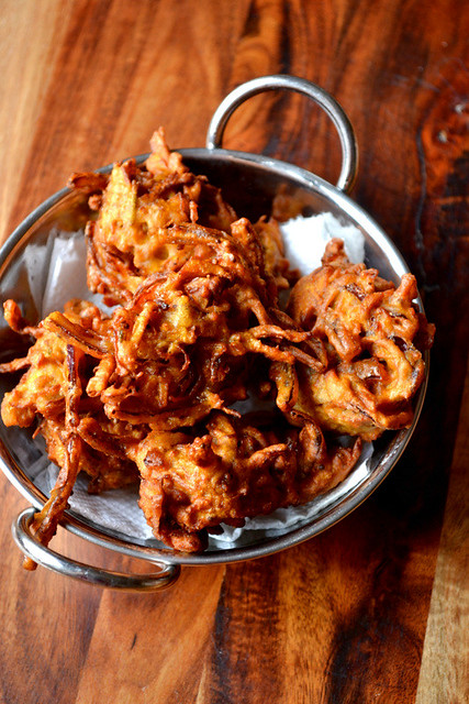 Onion and Carrot Bhaji Recipe