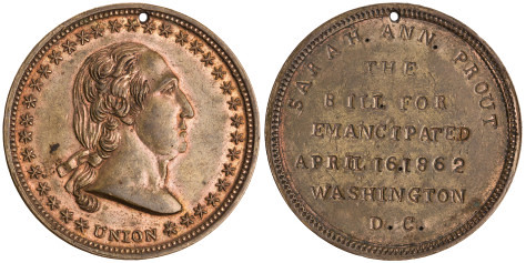 Sarah Ann Prout Emancipation disc