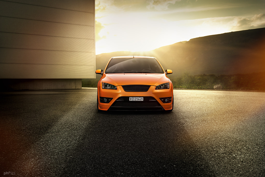Ford Focus St Mk2 Electric Orange The First Result Of