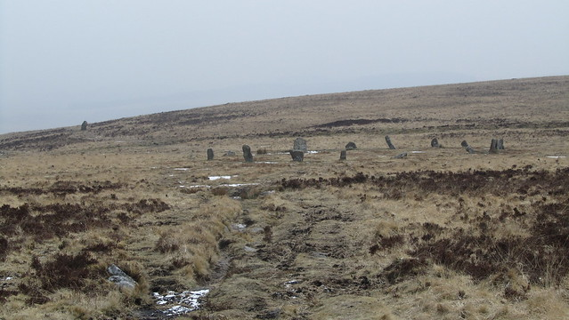 White Moor Circle and Stone