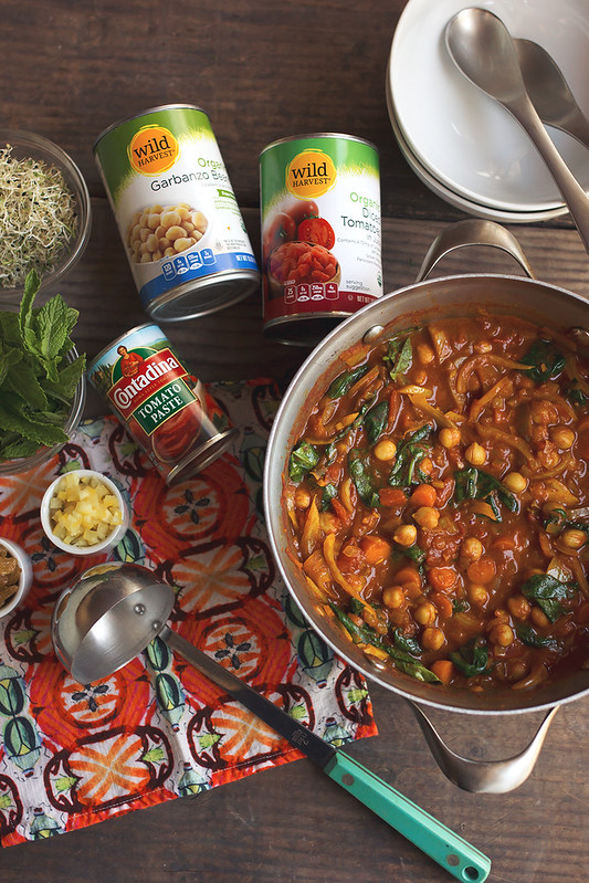 Morrocan Chickpea Stew