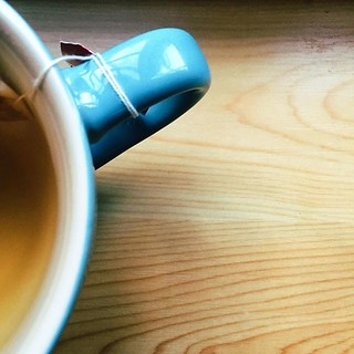 Tea in my blue mug | by lime_anneberit