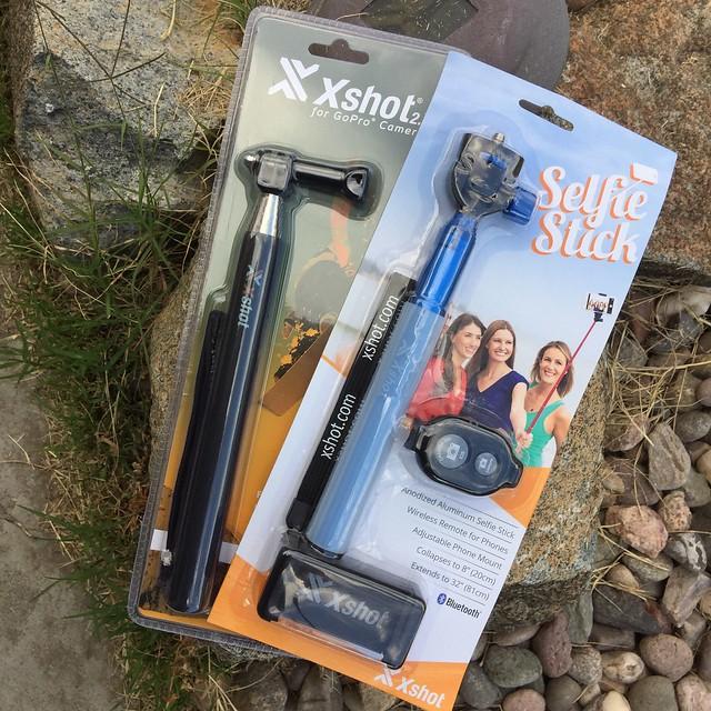 XSHOTS Selfie Stick and GoPro Stick