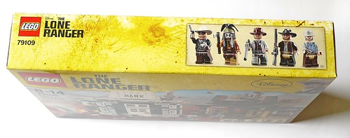 LEGO The Lone Ranger 79109 Colby City Showdown box03