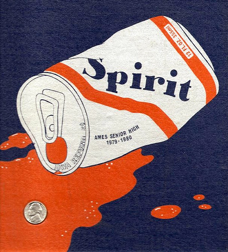 1980 ames high school spirit yearbook cover