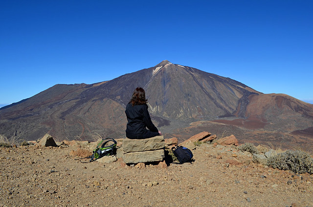 Mount Teide from Guajara, Tenerife
