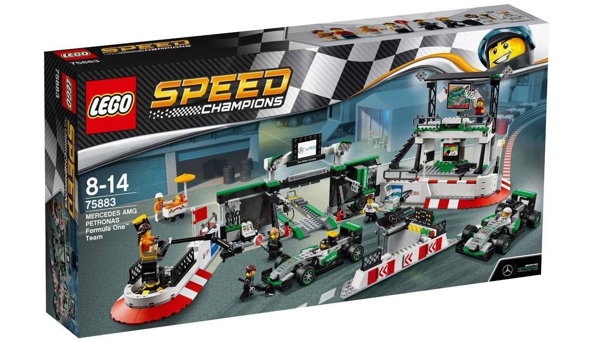 LEGO Speed Champions 75883 - Mercedes AMG PETRONAS Formula One Team